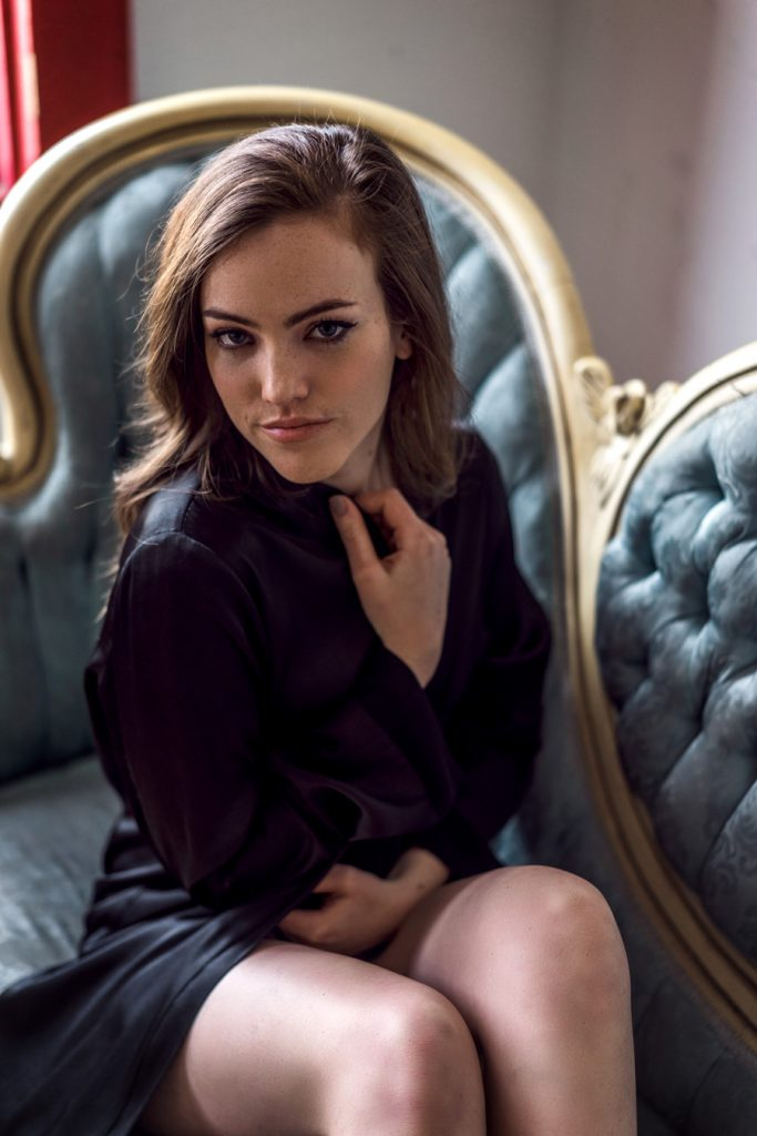 Natural light boudoir portraits with Sabrina Lynn in Dallas